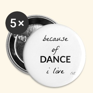 Live to DANCE T-shirt by Stephanie Lahart  - Small Buttons