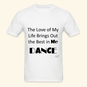 Love of My Life Dance T-shirt by Stephanie Lahart - Men's T-Shirt