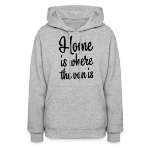 Home is where the van is - Women's Hoodie