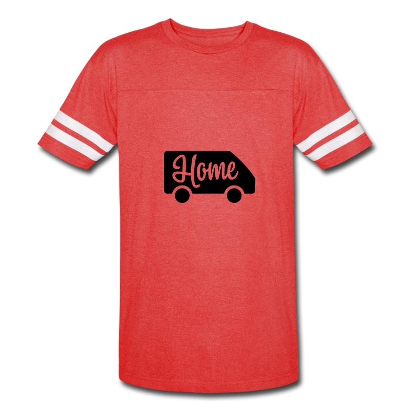 Home in a van - Vintage Sport T-Shirt