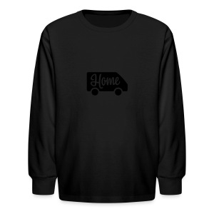 Home in a van - Kids' Long Sleeve T-Shirt