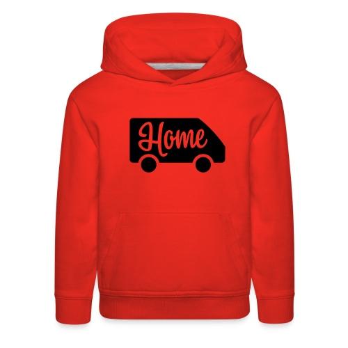 Home in a van - Kids' Premium Hoodie