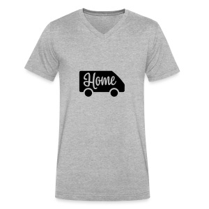 Home in a van - Men's V-Neck T-Shirt by Canvas