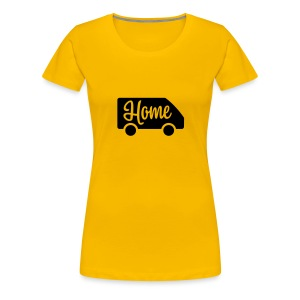 Home in a van - Women's Premium T-Shirt