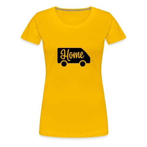 Home in a van - Women's Premium T-Shirt