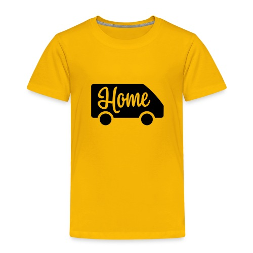 Home in a van - Toddler Premium T-Shirt