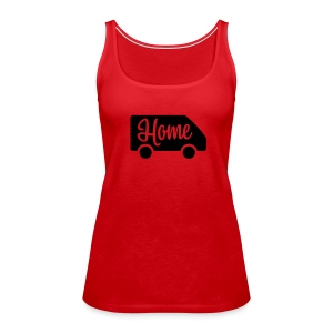 Home in a van - Women's Premium Tank Top