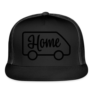 Home in a van - Trucker Cap