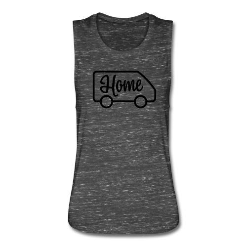Home in a van - Women's Flowy Muscle Tank by Bella