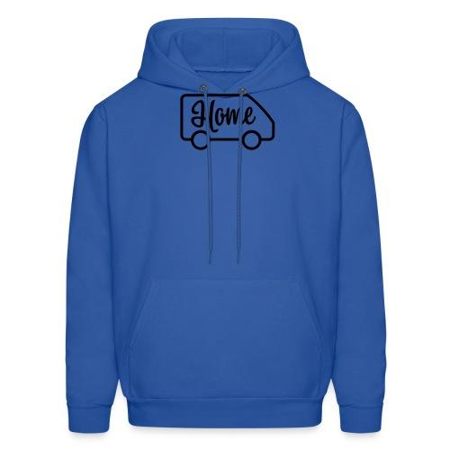 Home in a van - Men's Hoodie