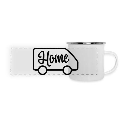 Home in a van - Panoramic Camper Mug