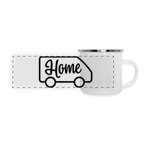Home in a van - Panoramic Camper Mug
