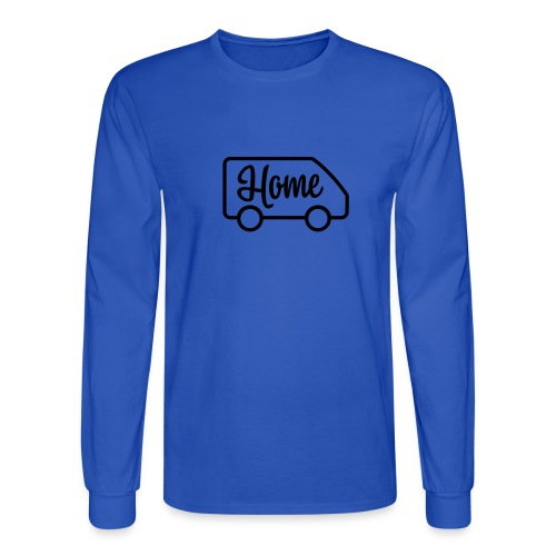 Home in a van - Men's Long Sleeve T-Shirt