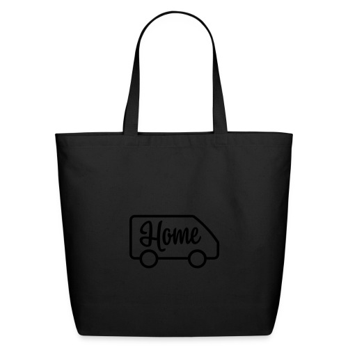 Home in a van - Eco-Friendly Cotton Tote