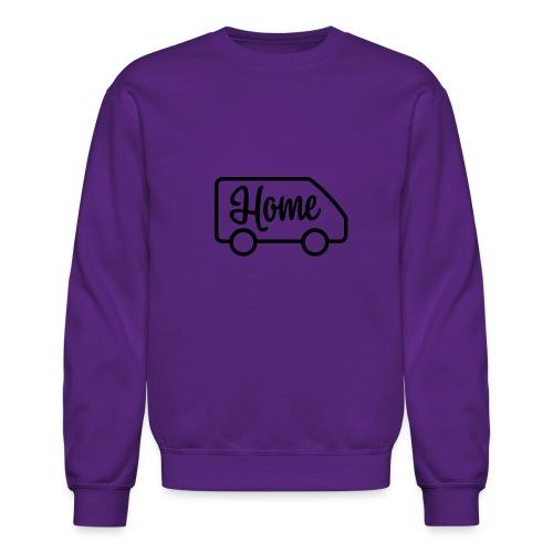 Home in a van - Crewneck Sweatshirt