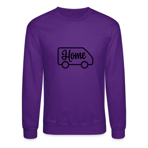 Home in a van - Crewneck Sweatshirt