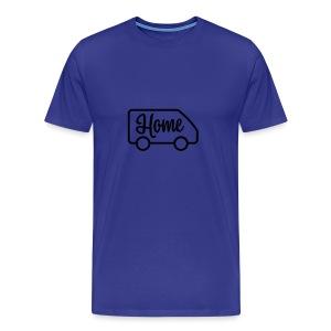 Home in a van - Men's Premium T-Shirt