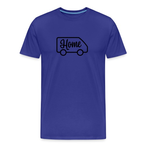 Home in a van - Men's Premium T-Shirt
