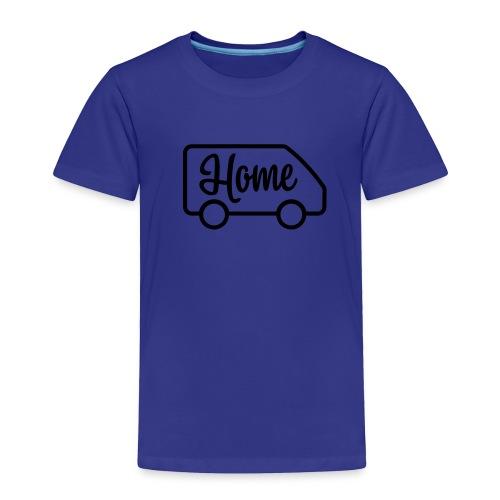 Home in a van - Toddler Premium T-Shirt