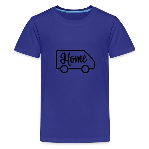 Home in a van - Kids' Premium T-Shirt