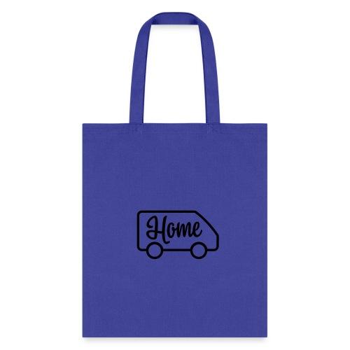 Home in a van - Tote Bag