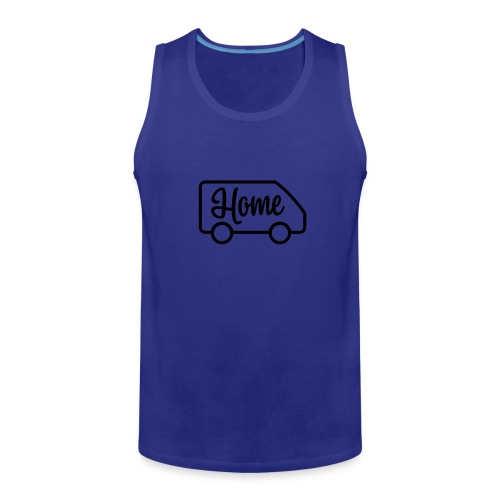 Home in a van - Men's Premium Tank