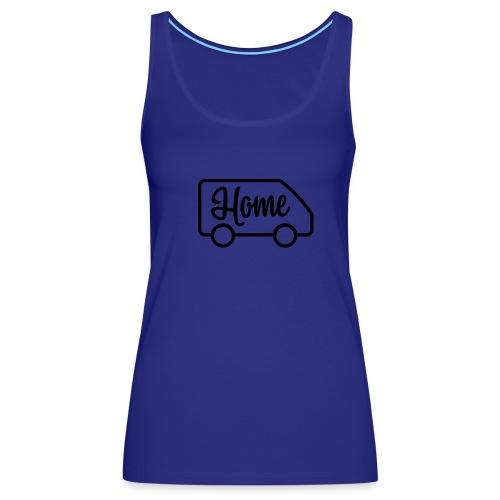 Home in a van - Women's Premium Tank Top