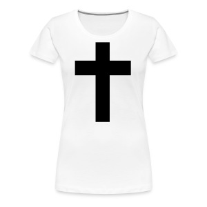 Jesus's Cross - Women's Premium T-Shirt
