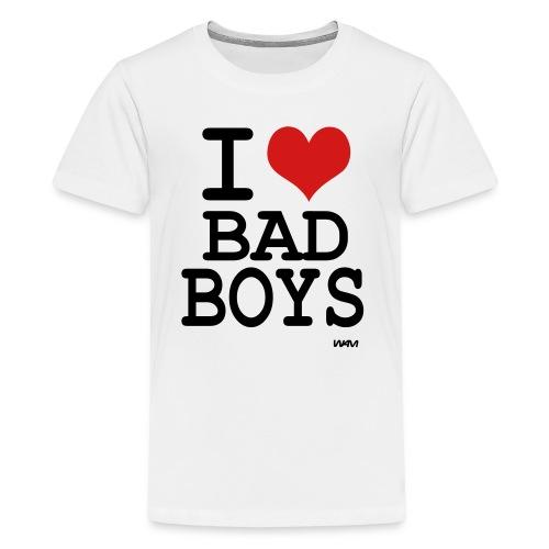 I Heart Bad Boys - Kids' Premium T-Shirt