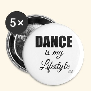 DANCE is my Lifestyle T-shirt by Stephanie Lahart - Small Buttons