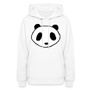 Panda Face Logo - Women - Women's Hoodie