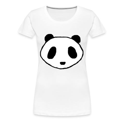 Panda Face Logo - Women - Women's Premium T-Shirt