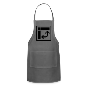 Pivot Table in Excel black - Adjustable Apron