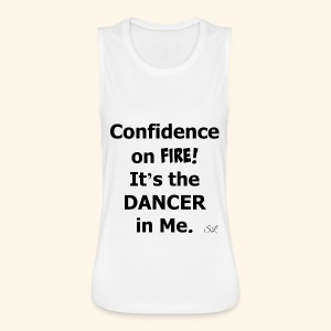 Confident Dancer T-shirt by Stephanie Lahart - Women's Flowy Muscle Tank by Bella