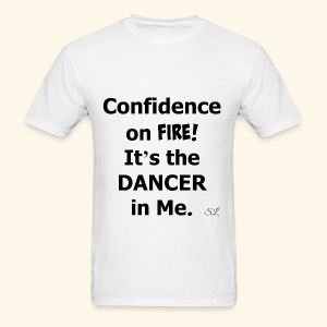 Confident Dancer T-shirt by Stephanie Lahart - Men's T-Shirt