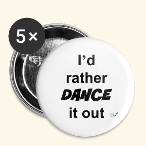 DANCE it out T-shirt by Stephanie Lahart  - Small Buttons