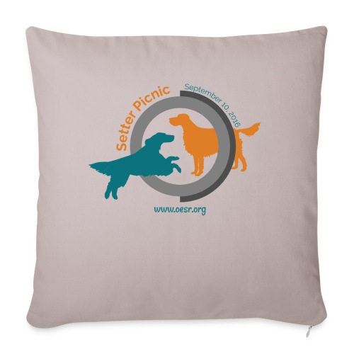 Women's Fit OESR Setter Picnic 2016 - Throw Pillow Cover