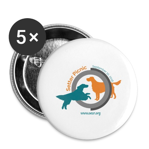 Women's Fit OESR Setter Picnic 2016 - Buttons large 2.2'' (5-pack)