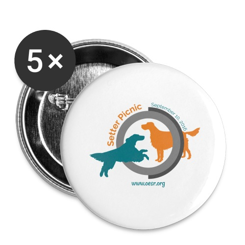 Women's Fit OESR Setter Picnic 2016 - Buttons small 1'' (5-pack)