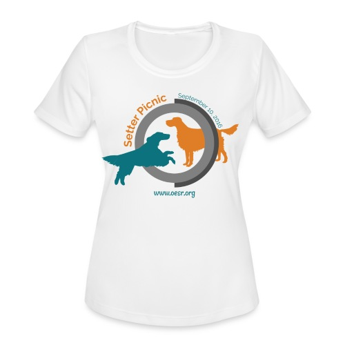 Women's Fit OESR Setter Picnic 2016 - Women's Moisture Wicking Performance T-Shirt