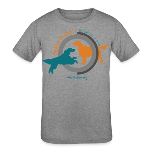 Women's Fit OESR Setter Picnic 2016 - Kids' Tri-Blend T-Shirt