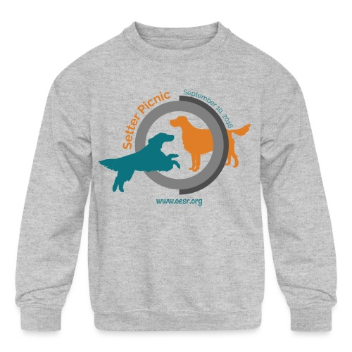 Women's Fit OESR Setter Picnic 2016 - Kids' Crewneck Sweatshirt