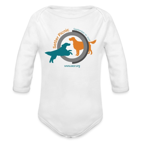 Women's Fit OESR Setter Picnic 2016 - Organic Long Sleeve Baby Bodysuit