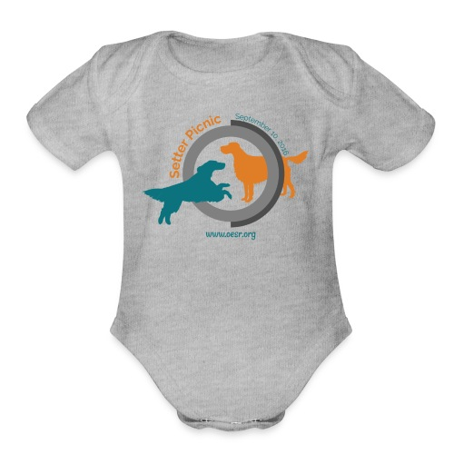 Women's Fit OESR Setter Picnic 2016 - Organic Short Sleeve Baby Bodysuit