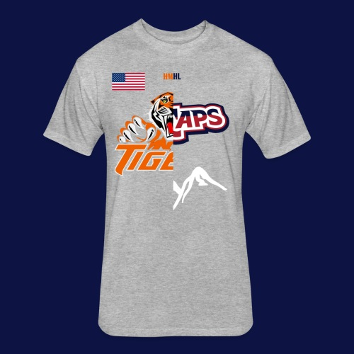 Tigers vs Ice Caps // House Divided - Fitted Cotton/Poly T-Shirt by Next Level