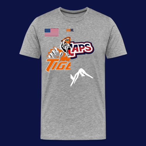 Tigers vs Ice Caps // House Divided - Men's Premium T-Shirt