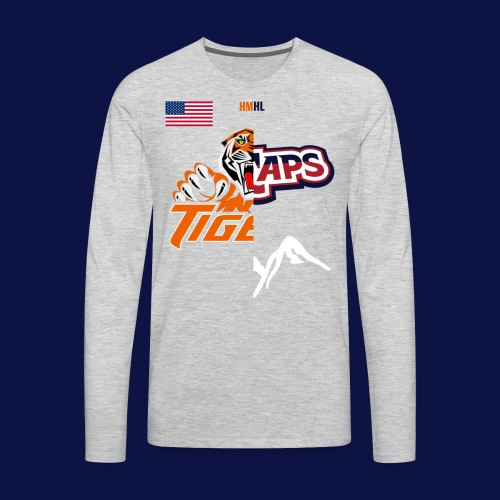 Tigers vs Ice Caps // House Divided - Men's Premium Long Sleeve T-Shirt