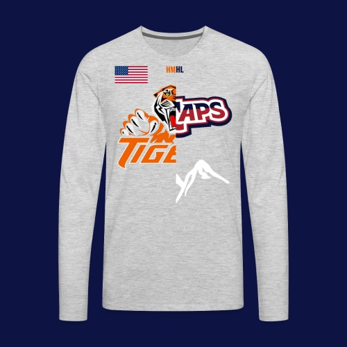 Tigers vs Ice Caps // House Divided - Men's Premium Long Sleeve T-Shirt