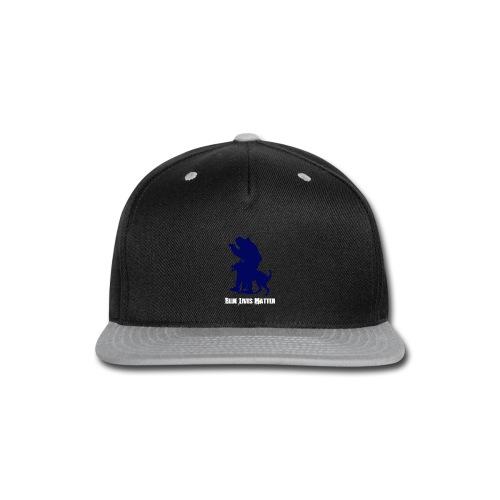 Blue Lives Matter K9 - Men's T-Shirt - Police - Snap-back Baseball Cap
