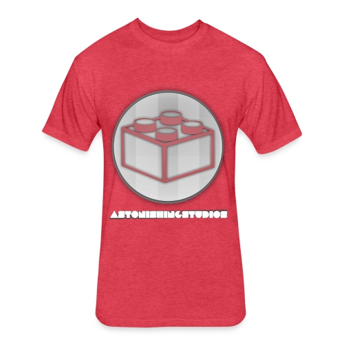 AstonishingStudios Tee - Fitted Cotton/Poly T-Shirt by Next Level